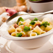 Pasta with sausage and broccoli — Stock Photo #9135438