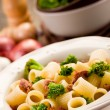 Royalty-Free Stock Photo: Pasta with sausage and broccoli