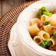 Pasta with sausage and broccoli — Stock Photo #9135477