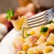 Pasta with sausage and broccoli — Stock Photo #9135511