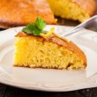 Lemon Sponge Cake - Stock Photo
