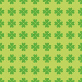 Seamless pattern with clover leaves — Stock Photo