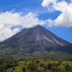 panorama do vulcão Arenal — Foto Stock