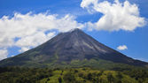 Arenal Volcano Panorama — Stock Photo
