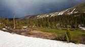 Jarní panorama — Stock fotografie