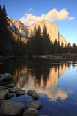 El Capitan Reflections — Stock Photo