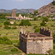 Gingee Fort Scene — Foto Stock