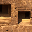 Stock Photo: Monk Rock Dwellings