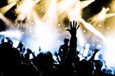 现场音乐会 — 图库照片