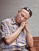 Elderly man — Stock Photo