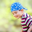 Young boy wearing bandana — Stock Photo #10471736