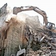 Foto Stock: Demolition of old building