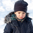 Winter portrait of boy — Stock Photo #8843121