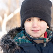Winter portrait of a  boy — Stock Photo #8856660