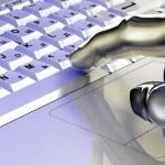 Laptop keyboard — Stock Photo #10051981