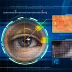 Eye scanner — Stock Photo