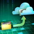 File cloud — Stock Photo #10052310