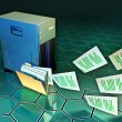 File server — Stock Photo #10052324