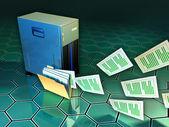 File server — Stock Photo