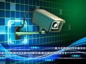 Internet nadzoru — Zdjęcie stockowe