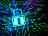Siber güvenlik — Stok fotoğraf