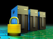 Server protection — Stock Photo