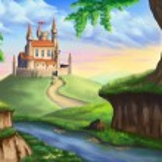 Постер, плакат: Fantasy castle