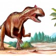 Allosaurus - Stock Photo