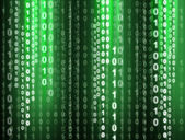二进制代码 — 图库照片