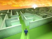 Business Labyrinth — Stock Photo