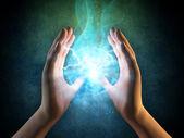 énergie des mains — Photo