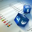 Currency exchange - Stock Photo