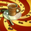 Espresso coffee - Stockfoto