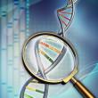 analisi del DNA — Foto Stock