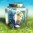 Earth Conservation — Stock Photo