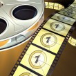 Film reel — Stock Photo #10256823