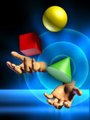 Juggling — Stock Photo