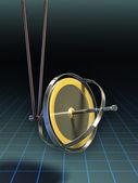 Gyroscope equilibrium — Stock Photo