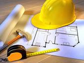 домашний планирования — Стоковое фото