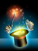 Magician trick — Stock Photo