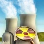 Nuclear power — Stock Photo