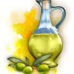 Olive oil — Stock Photo #10521109