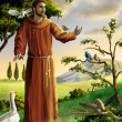 Saint Francis - Stock Photo