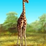 Постер, плакат: Giraffe