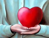 Big heart — Stock Photo