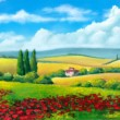 Summer landscape - 