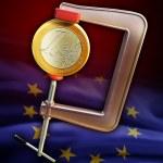 Euro under pressure — Stock Photo #10704919