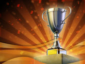 Prize cup — Stock Photo