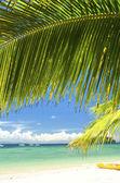 Manukan island — Stock Photo