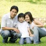 Asian family — Stock Photo #10708663